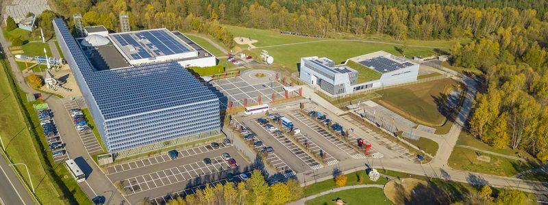 Galaxia Business Park, centre spatial belge avec support, incubateur, etc.
