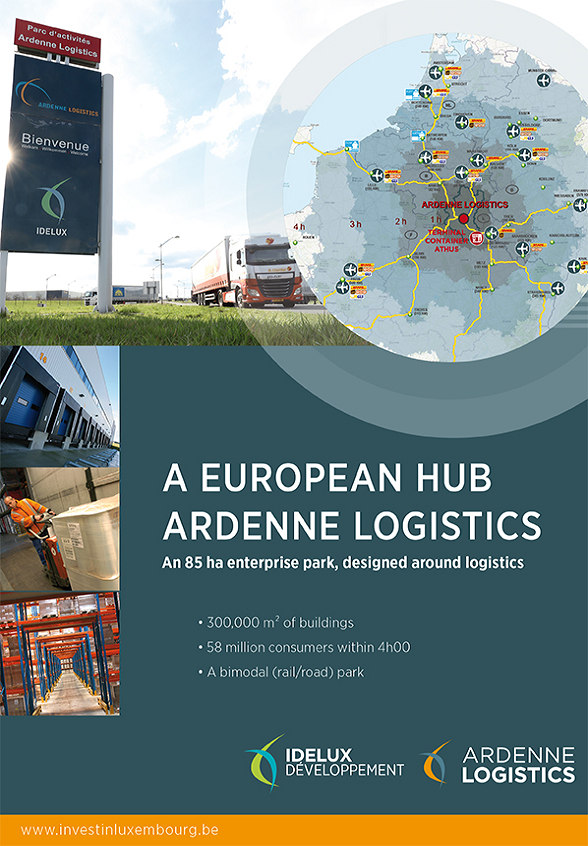Invest in logistics in Belgium